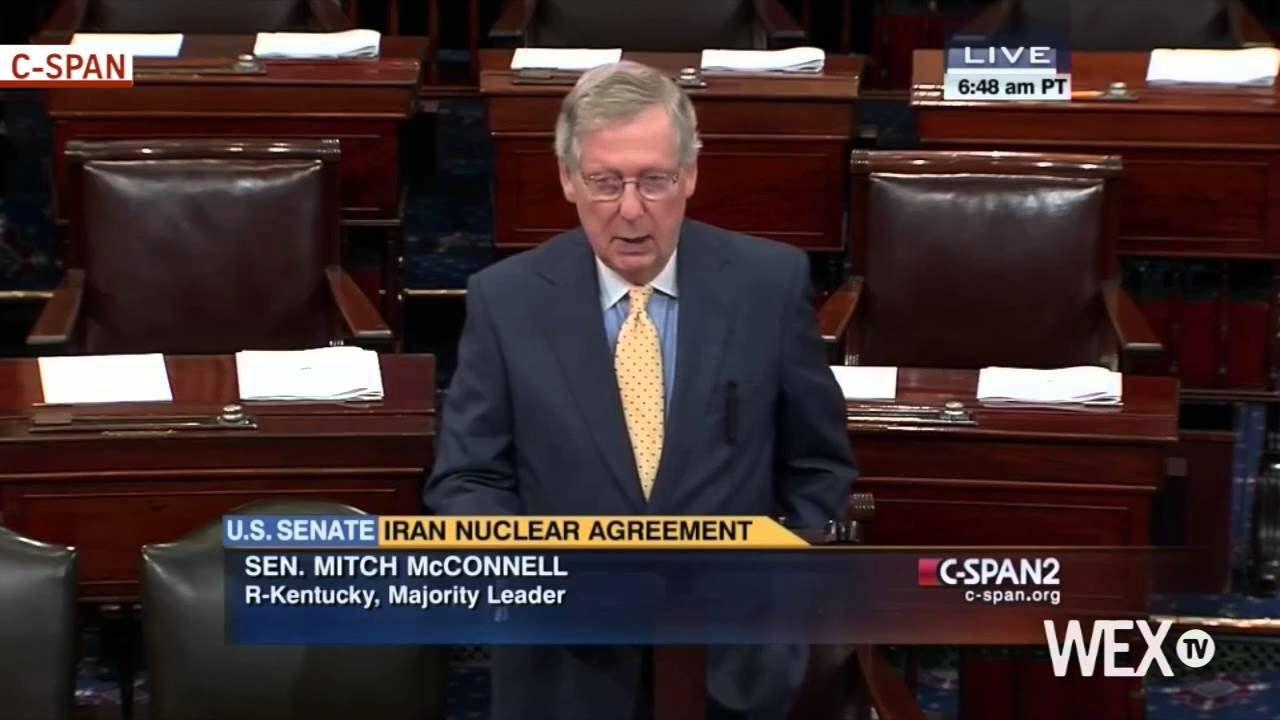 Senate moves closer to a vote on Iran bill