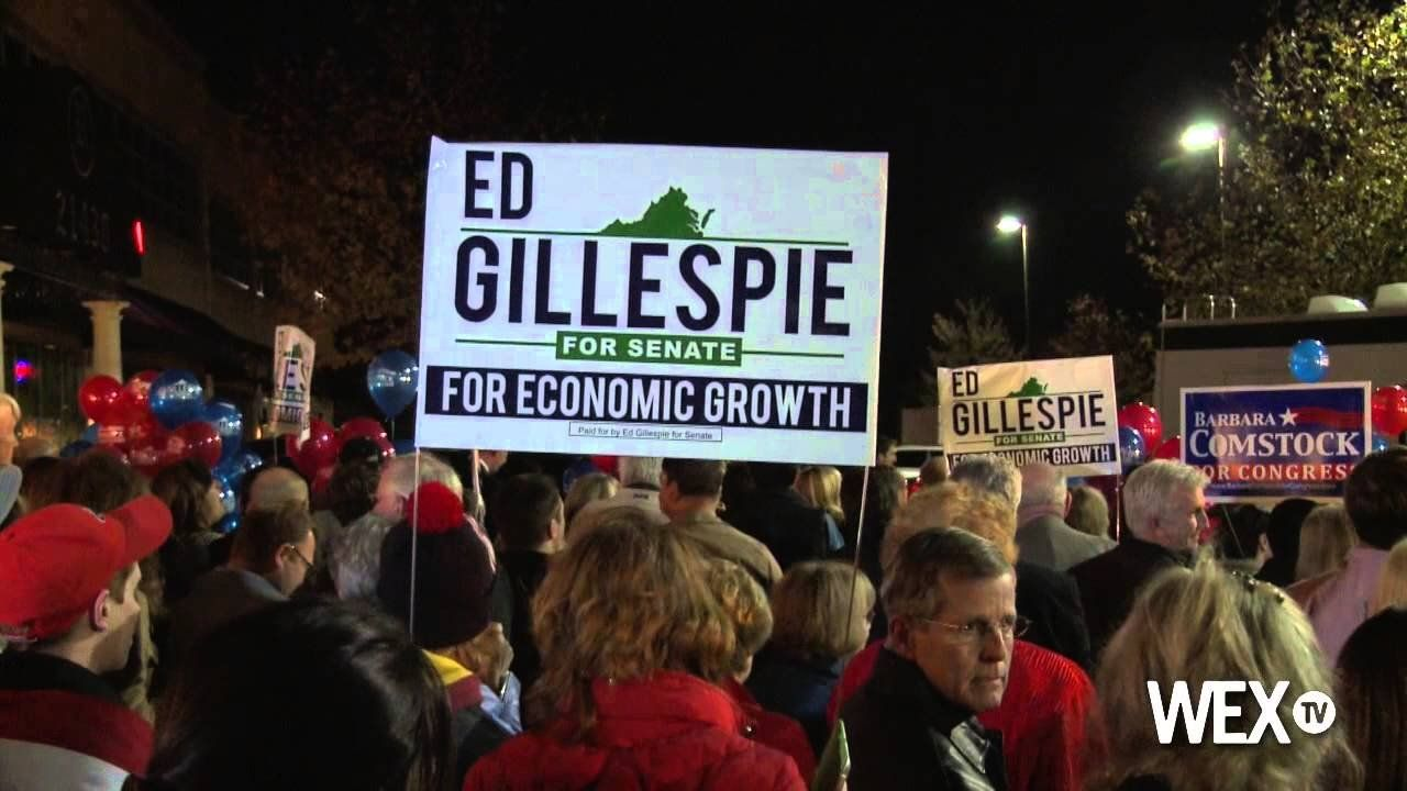 Ed Gillespie gives one last push for voters in Virginia