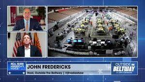 Ken Bennett and John Fredericks discuss next steps for the AZ election audit