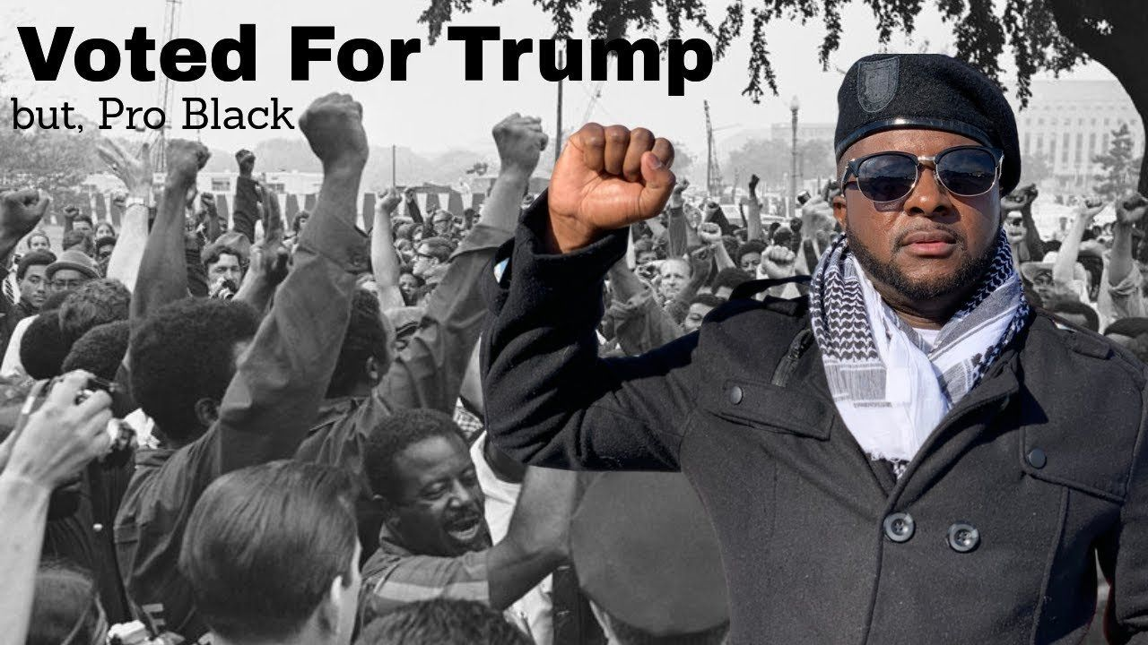 Voted For Trump, but I'm Pro Black – (Music Video)
