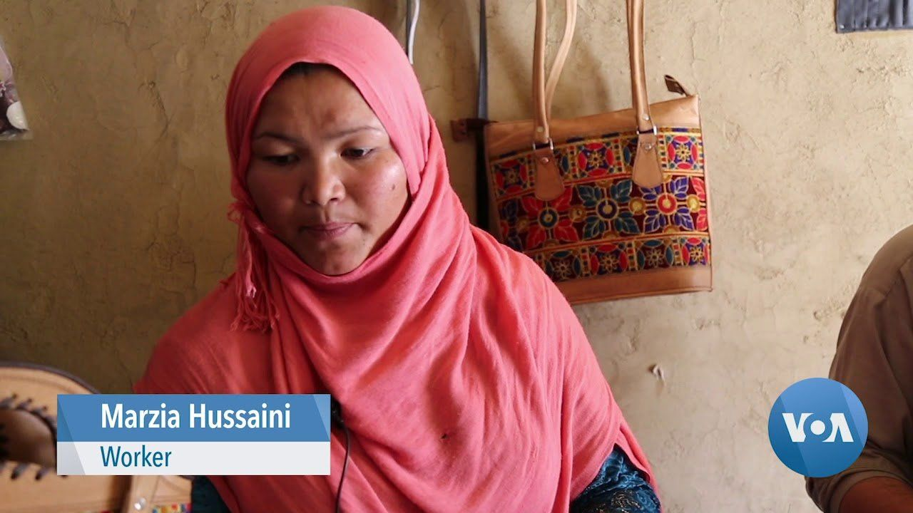 Woman Entrepreneur Building Business in Afghanistan