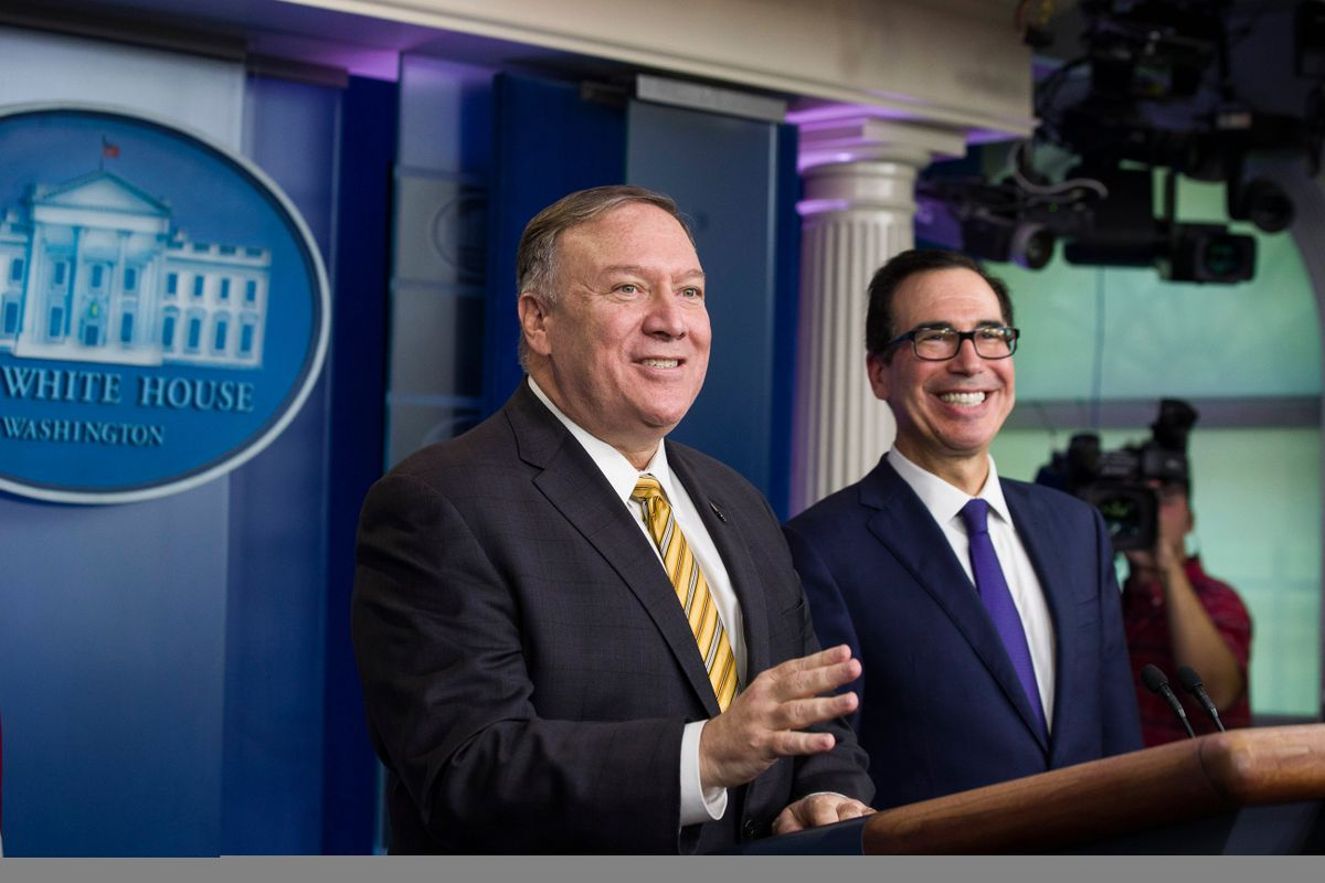 More Than Ever, Pompeo at Helm of Trump Foreign Policy