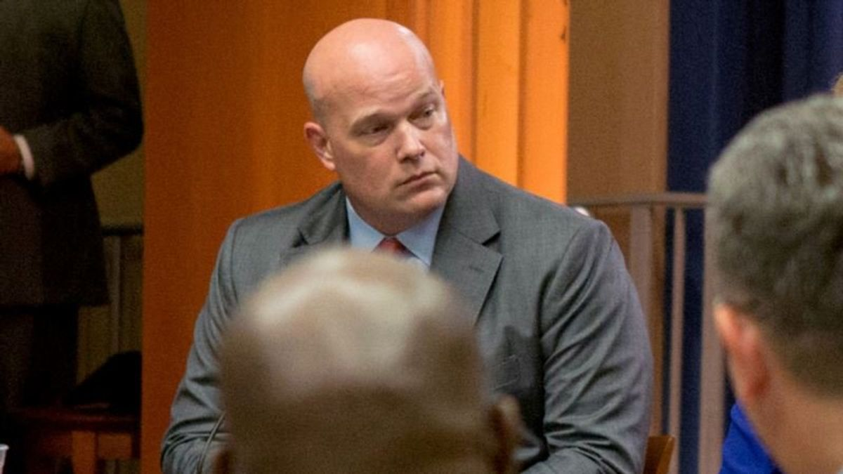 Justice Legal Opinion Backs Whitaker's Naming as Acting AG