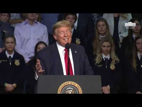 President Trump Delivers Remarks to Rural Stakeholders on California Water Accessibility
