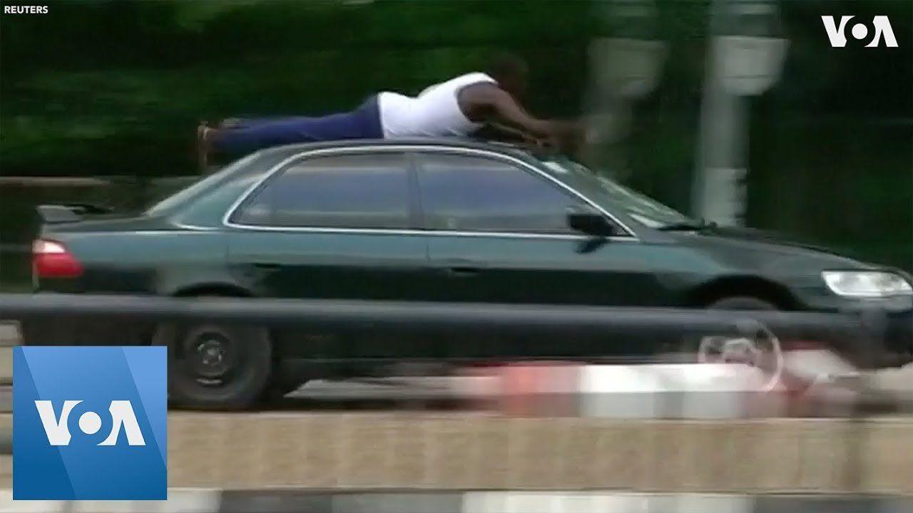 Nigerian National Assembly Put On Lockdown After Violent Protests