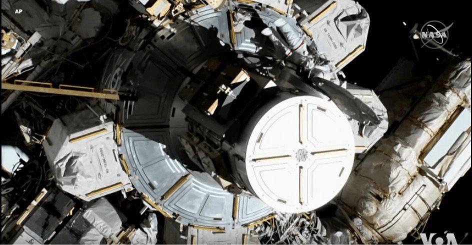 NASA Astronauts Conduct the First All Woman Spacewalk