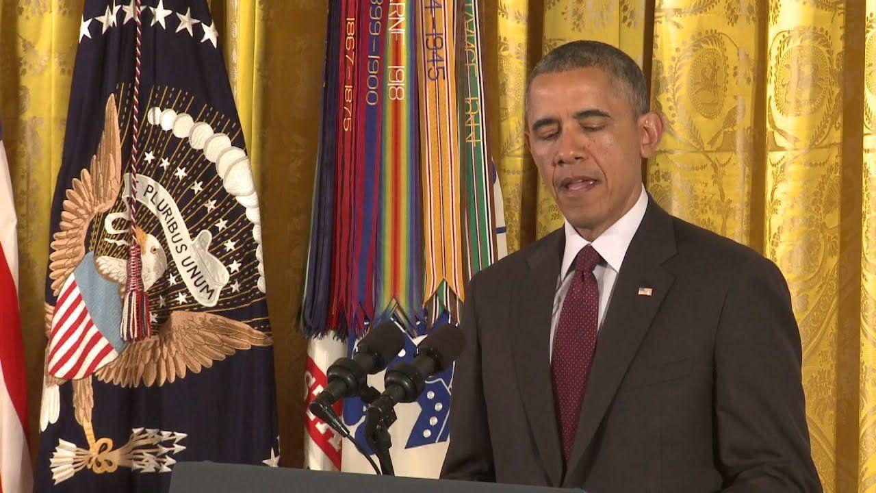 President Obama awards Medal of Honor to Kyle J. White