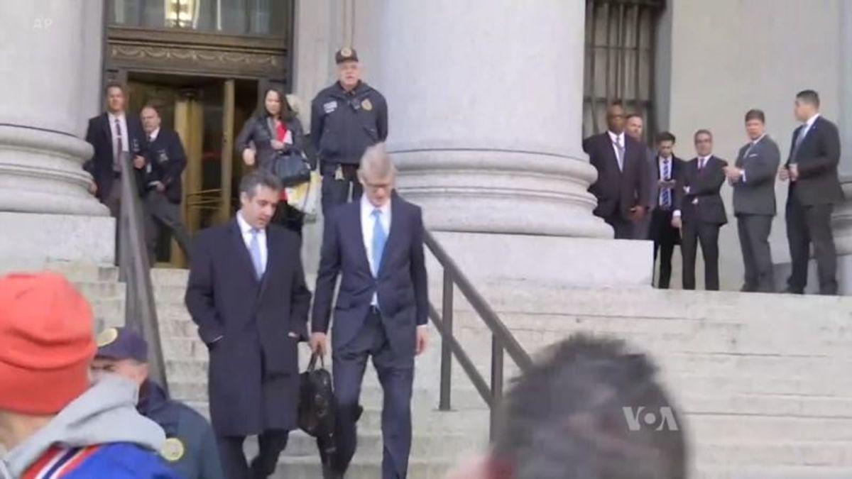 Cohen Guilty Plea Signals New Turn in Russia Probe