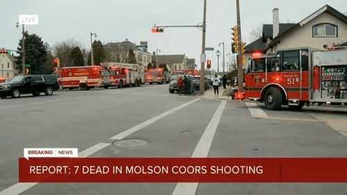 Report: 7 dead, including shooter, in attack near Milwaukee Molson Coors campus