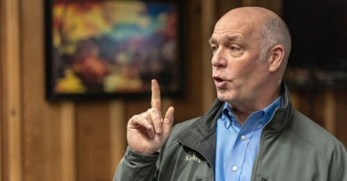 Montana Governor Gianforte traps, kills wolf in violation of state requirement, receives warning