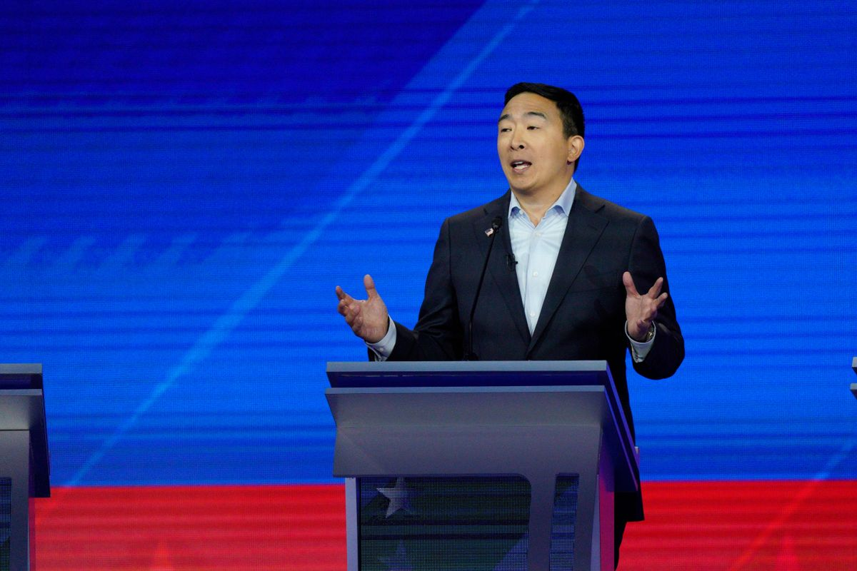 More Than 450,000 People Want Andrew Yang's Money