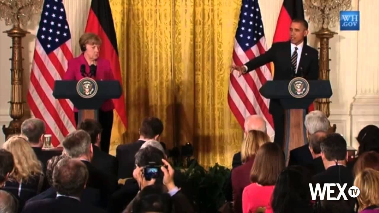 Obama wants 'benefit of the doubt' from Germans on NSA spying