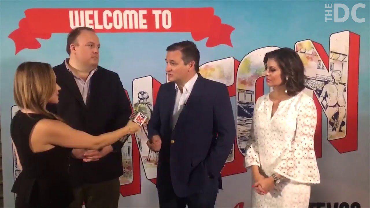 Ted Cruz On Empowering Young Conservatives Through Mav PAV and MavCon