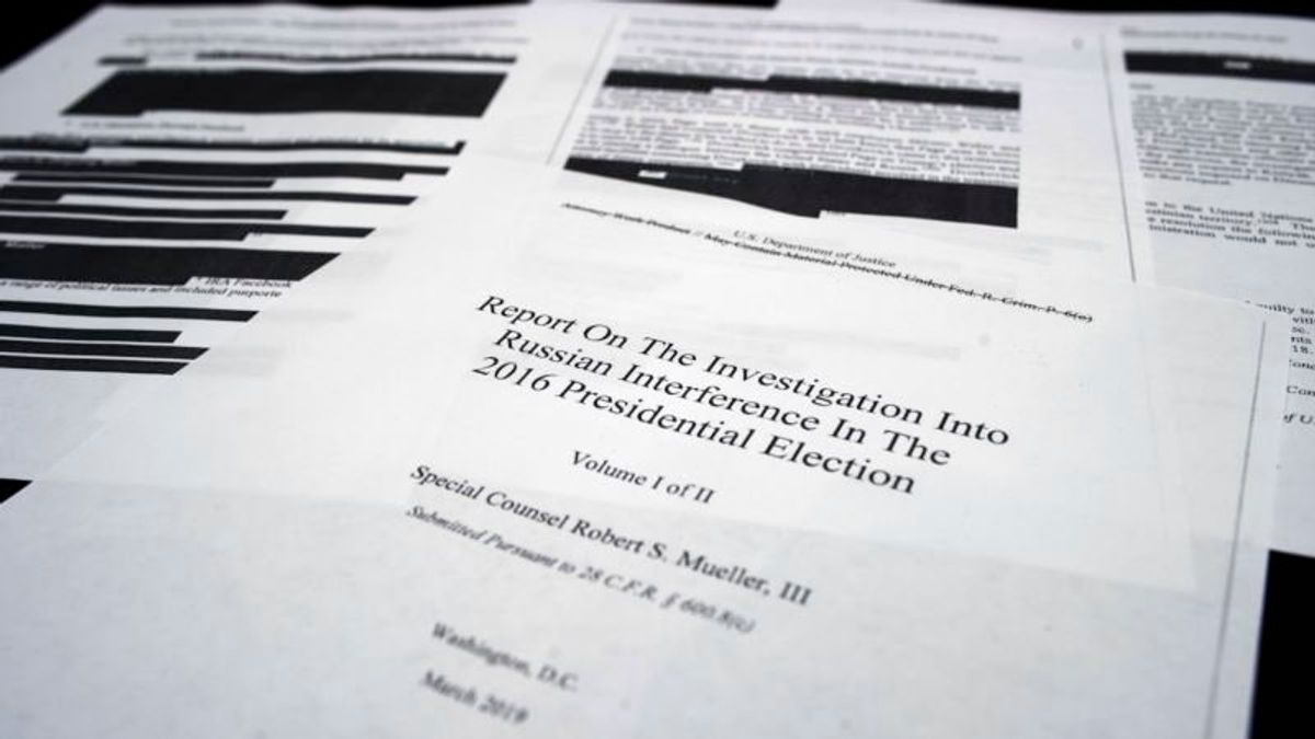 Trump Continues to Lash Out at Mueller Report