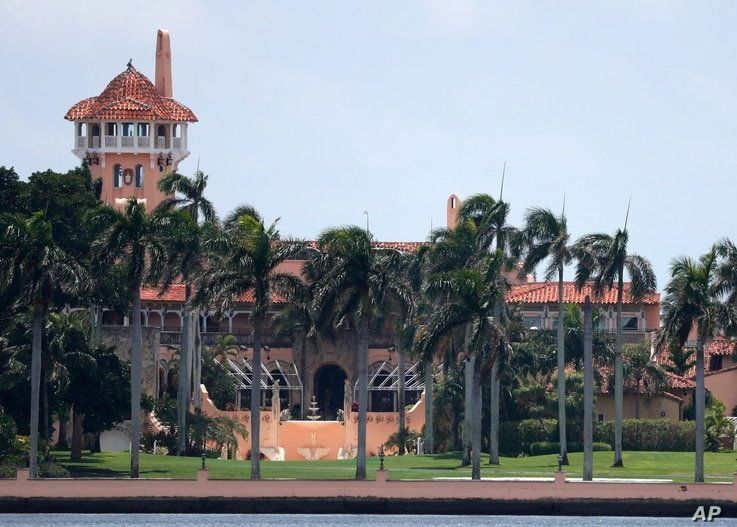 FILE - President Donald Trump's Mar-a-Lago estate in Palm Beach, Florida.