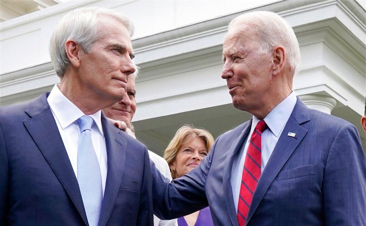 No Veto Threat on Infrastructure Deal, Biden Says