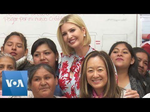 Ivanka Trump Meets Female Entrepreneurs in Argentina