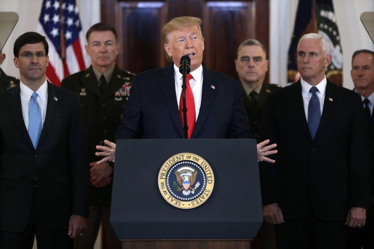 AP FACT CHECK: Trump Minimizes IS Risk, Distorts Iran Payout