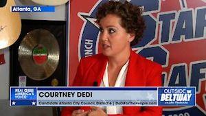 Courtney DeDi explains the need for community policing in Atlanta, GA