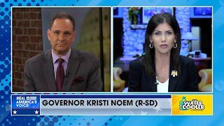 Gov. Kristi Noem discusses the battle for values in the United States