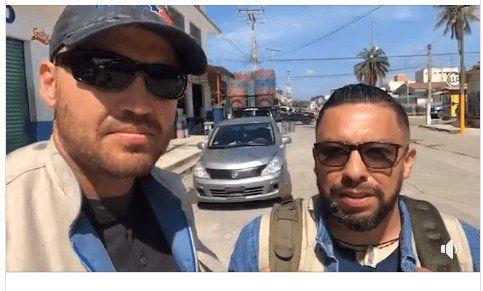 """Ben Bergquam and Oscar """"El Blue"""" live on the Guatemala border"""