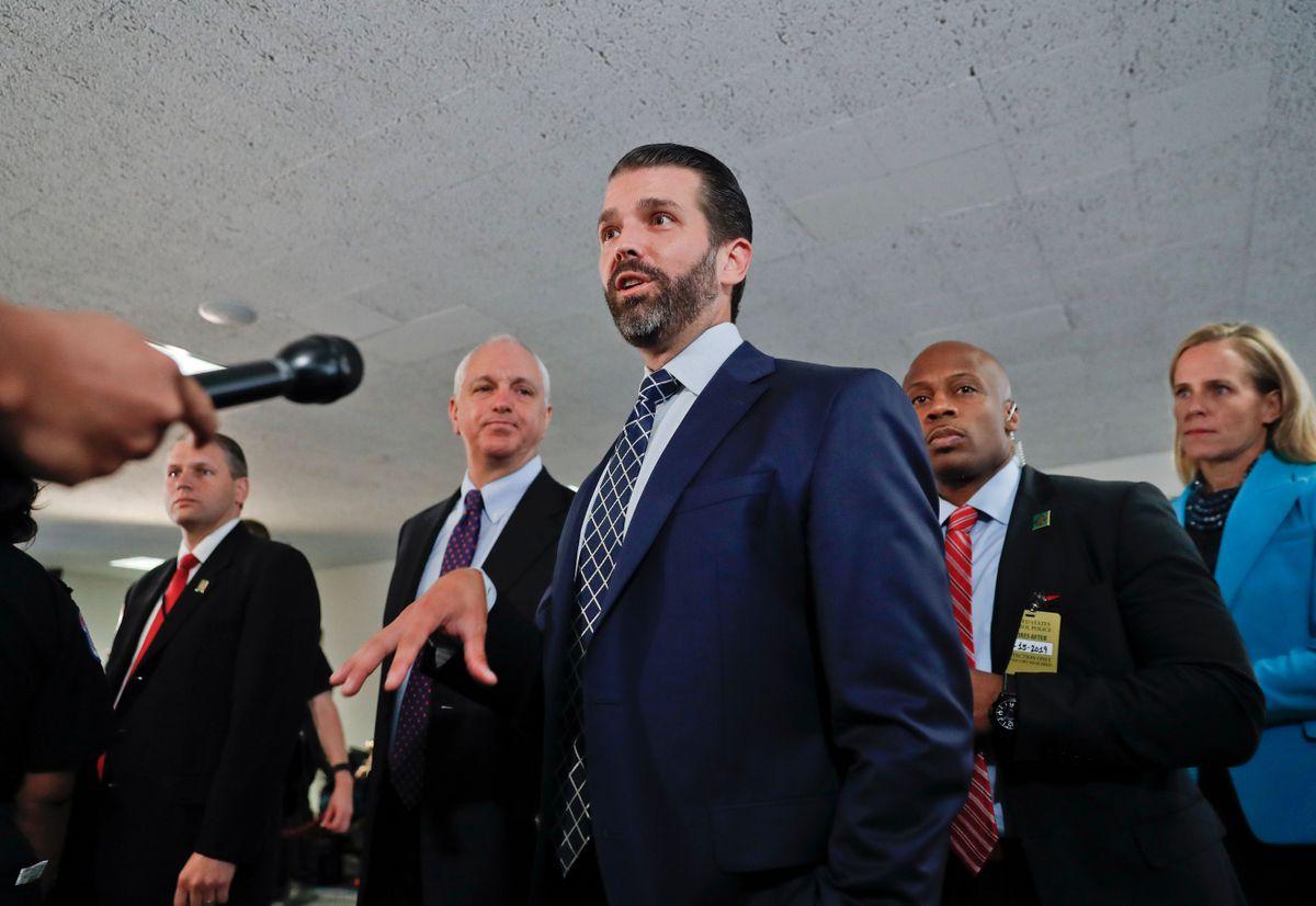 Trump's Son, 2 Former FBI Leaders Testify on Capitol Hill