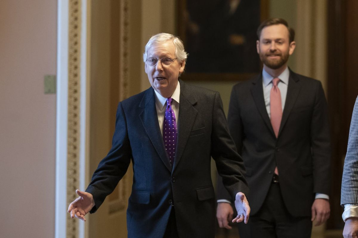 McConnell Blasts Impeachment, Will Vote to Acquit Trump