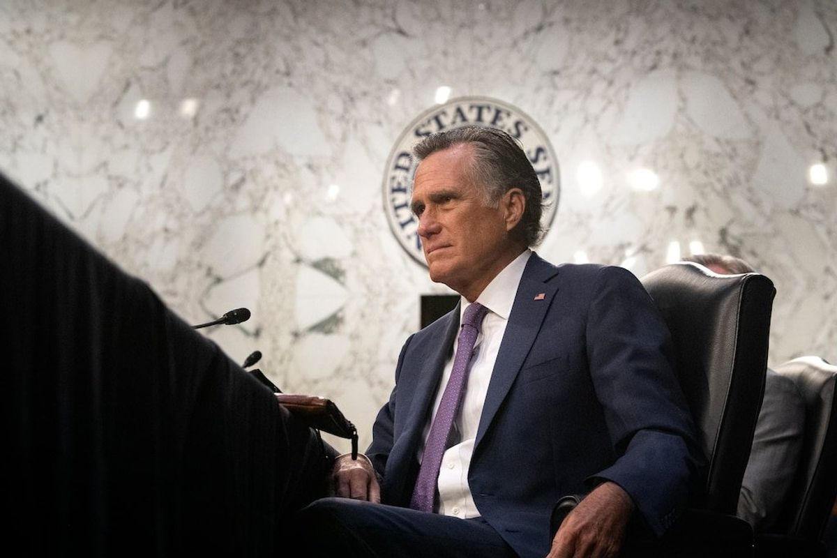 Romney Receives Profile in Courage Award for Impeachment Vote