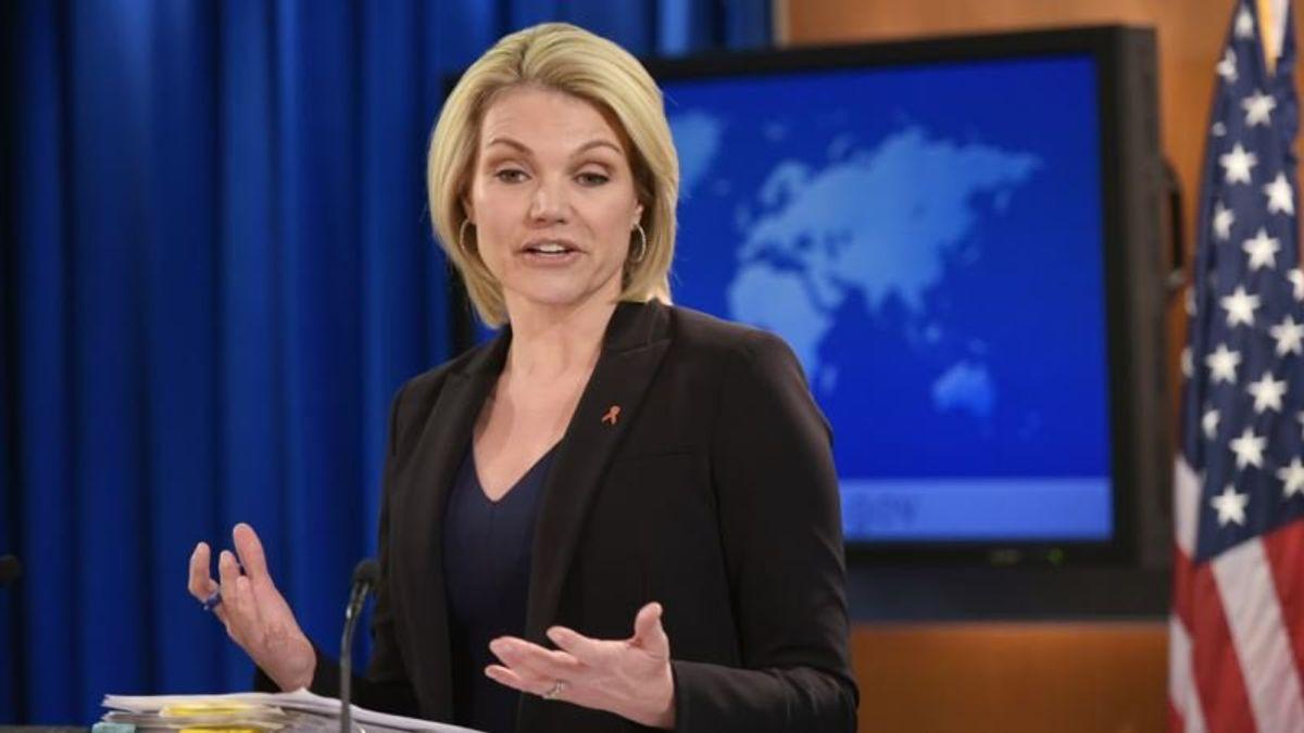 Trump Names State Department's Spokesperson Nauert as UN Ambassador