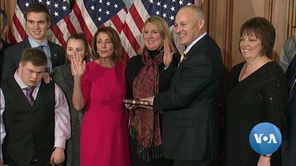 Climbing the Hill: New Legislators Are Sworn In
