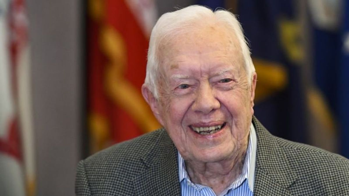 Jimmy Carter: To Beat Trump, Democrats Cannot Scare Off Moderates