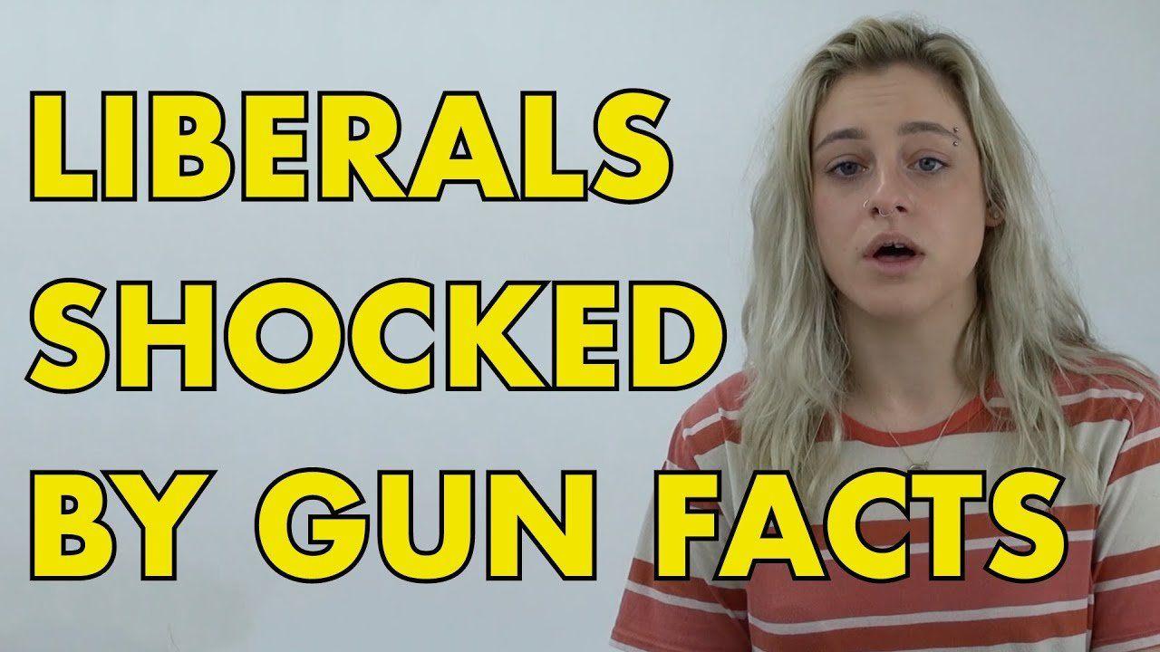 GUN CONTROL:  Liberals Shocked By Gun Control Facts