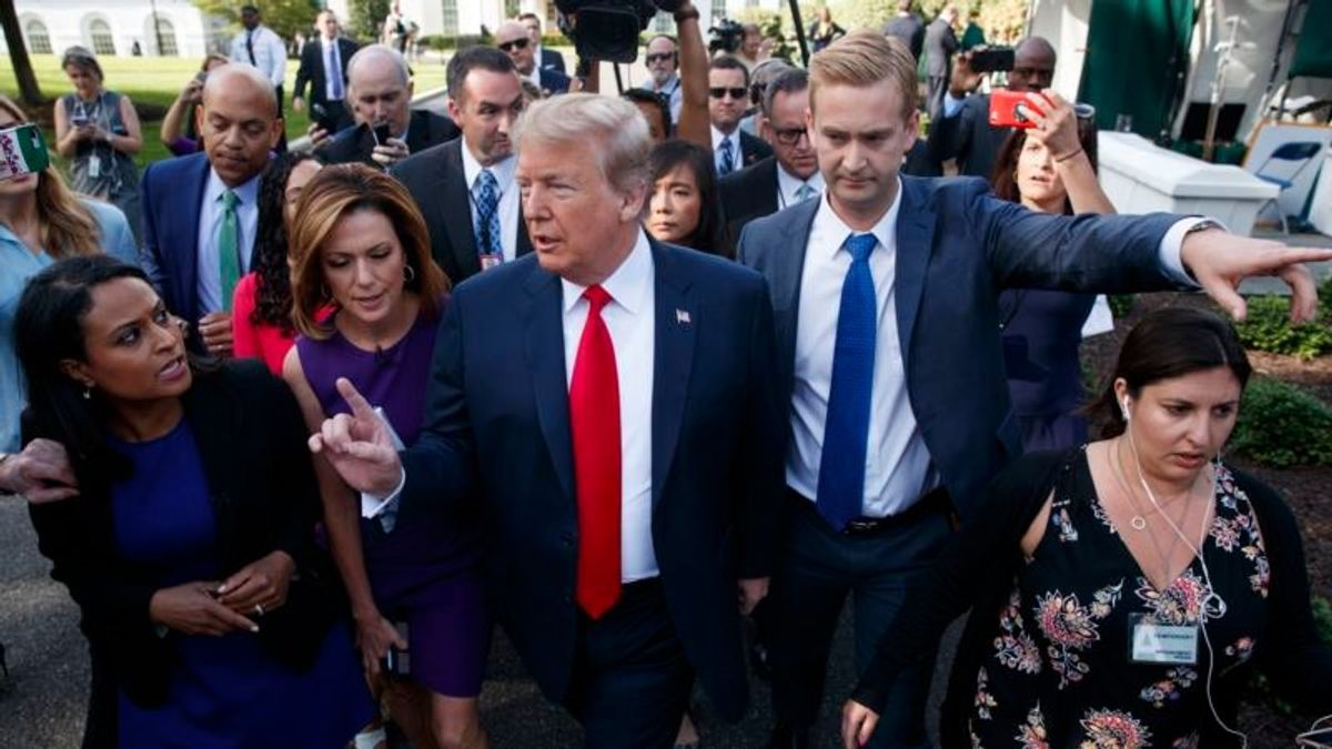 Trump Mounts Fresh Attack on Mueller Probe
