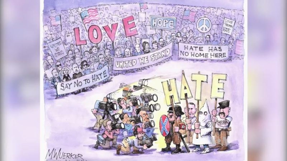 Editorial Cartoons Pack Powerful Messages