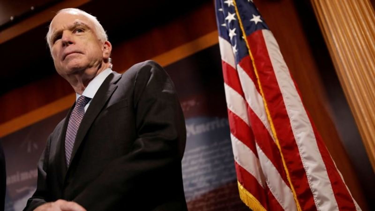 McCain to be Honored in Arizona, Washington