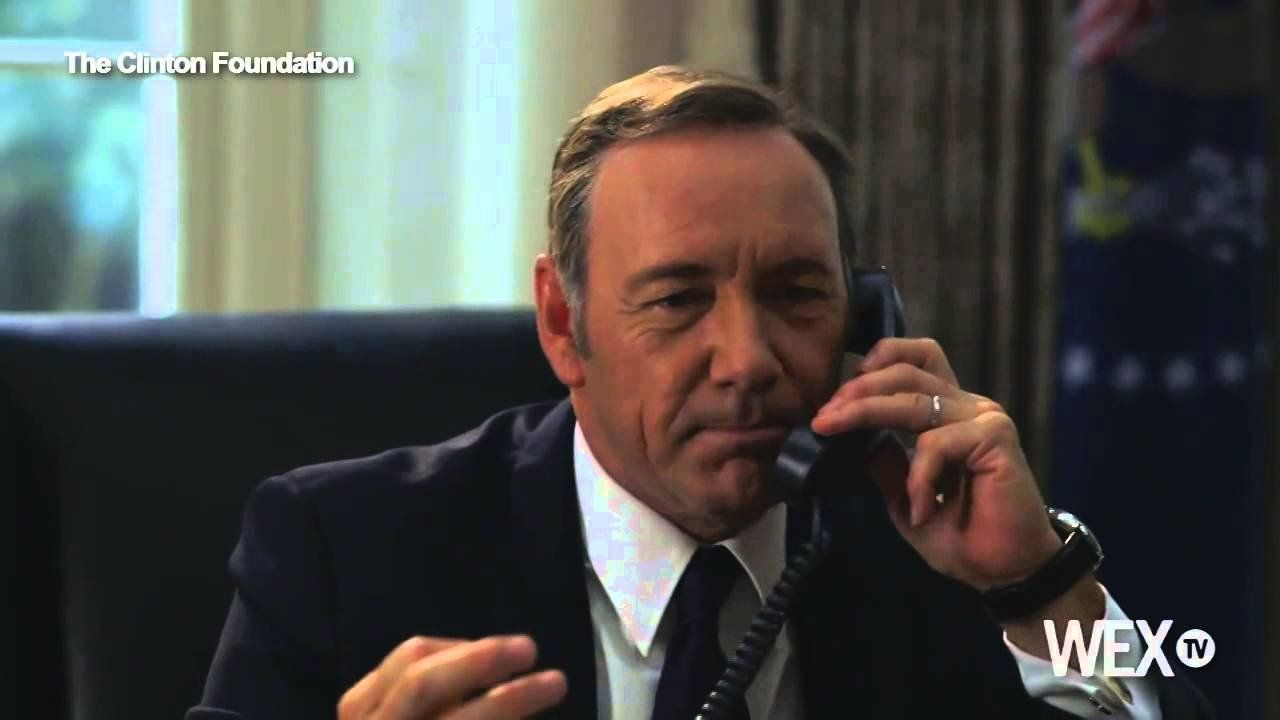 Frank Underwood takes on Hillary Clinton in new video