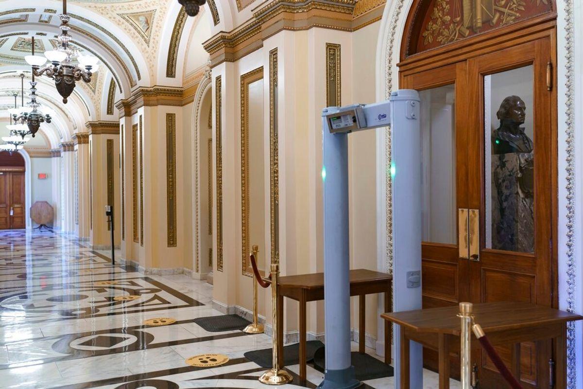 Senators to Examine Capitol Security