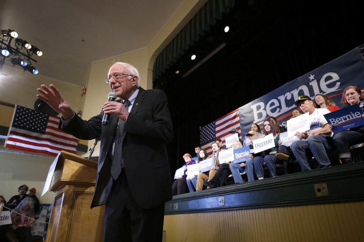 Sanders Says He Raised $25M in January, Will Bolster Ad Buys