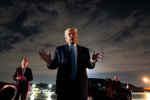'Follow Your Vote,' Trump Tells Mail-in Ballot Voters