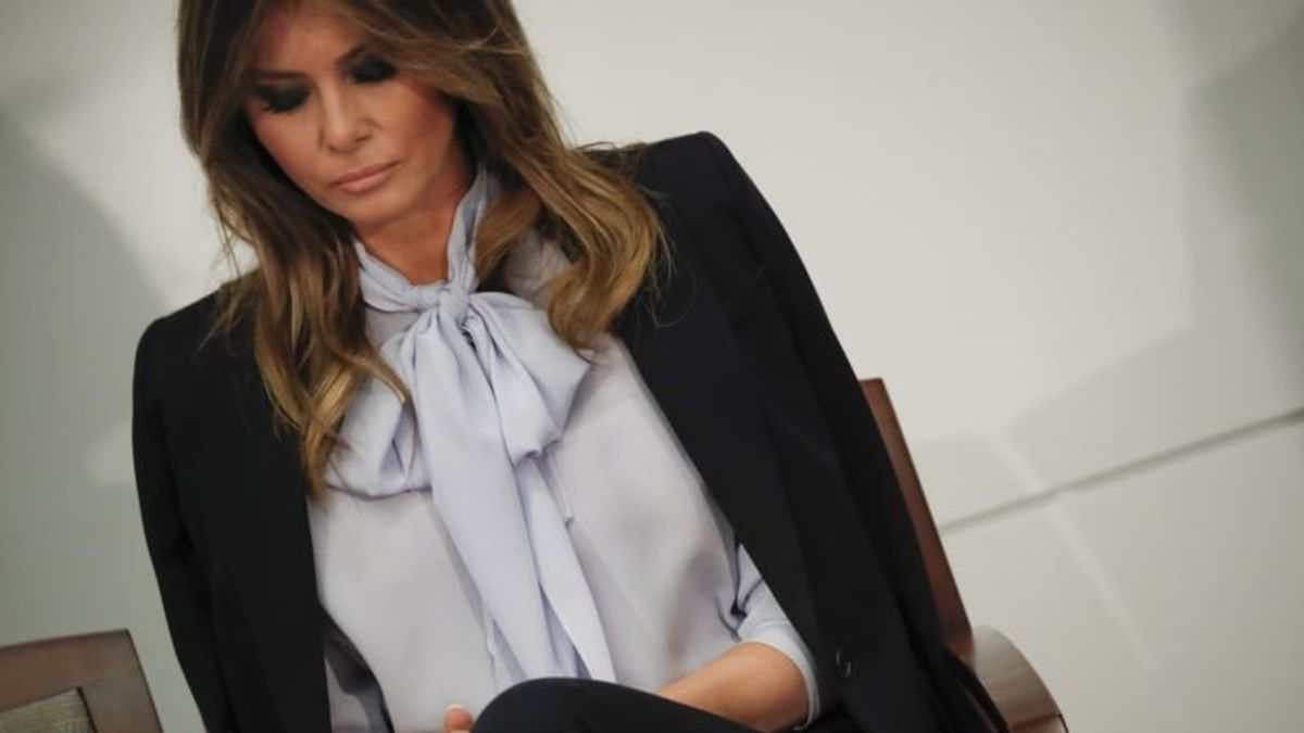 Melania Trump Says She's One of Most Bullied People in the World