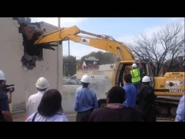 Marion Barry – Skyland demolition