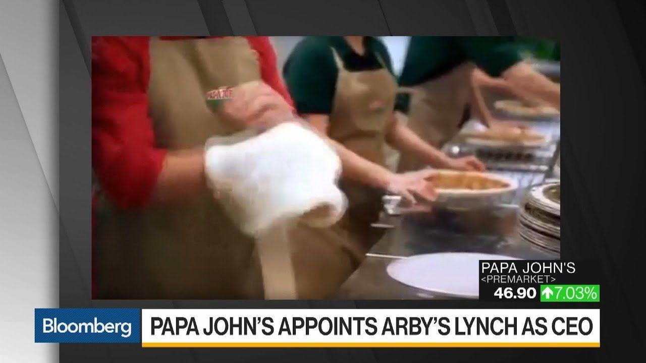 Papa John's Names Arby's Rob Lynch as New CEO