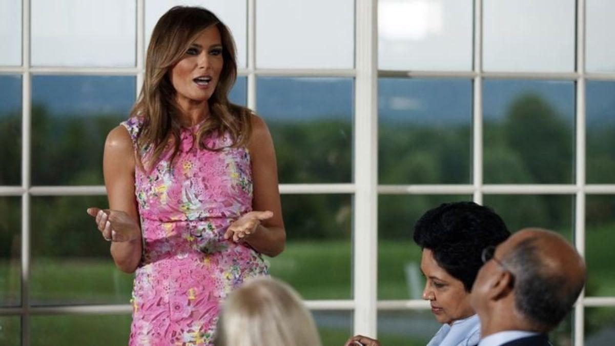 Melania Trump to Address Cyberbullying Summit in Maryland