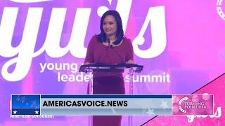 Katrina Pierson at the TPUSA Young Women's Summit