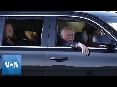 Bernie Sanders Returns to Vermont Home