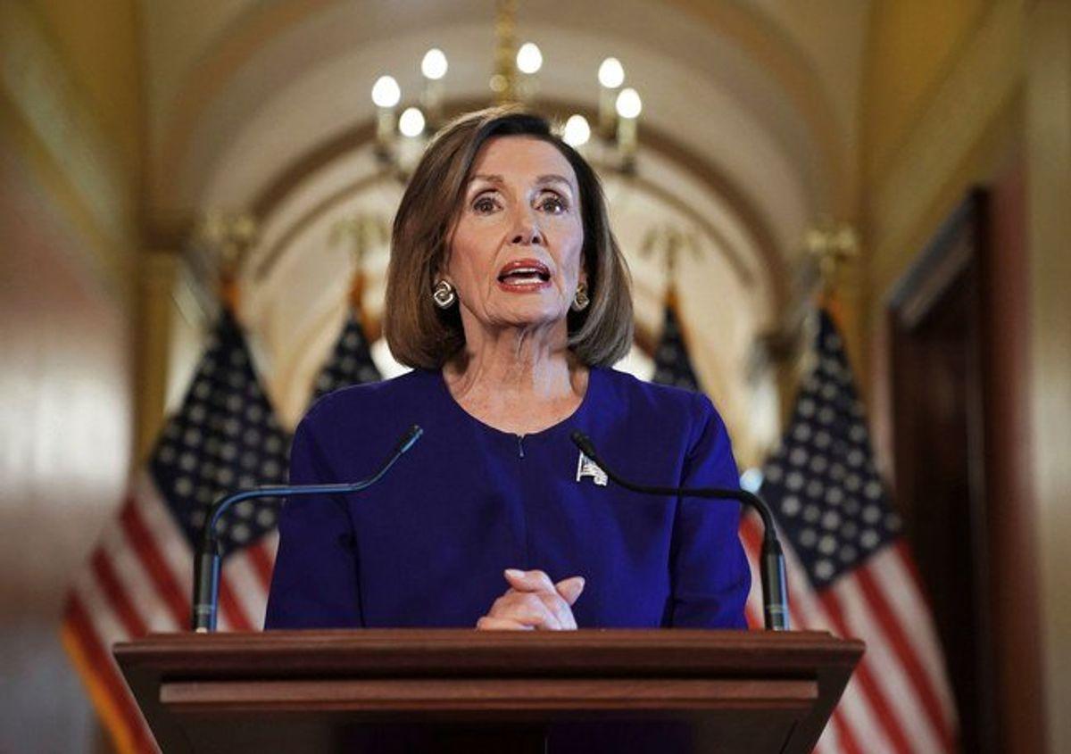 House Speaker Announces Formal Trump Impeachment Inquiry