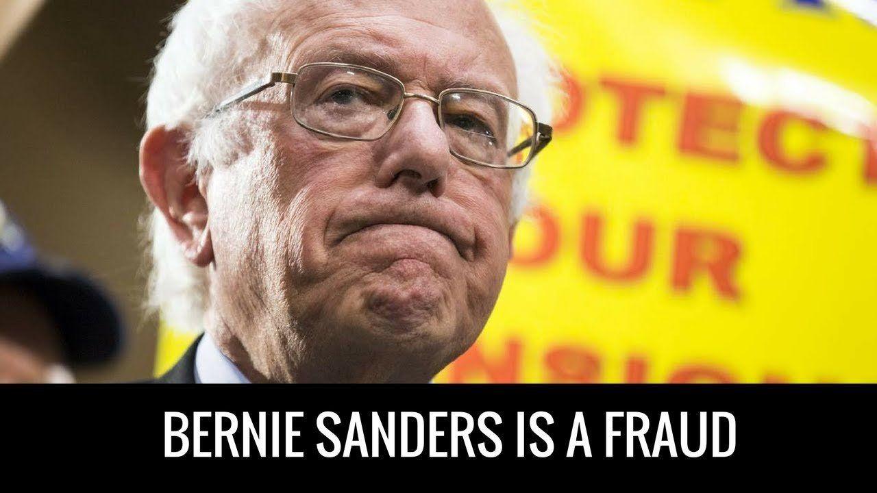 Charlie Kirk: Bernie Sanders Is A Fraud