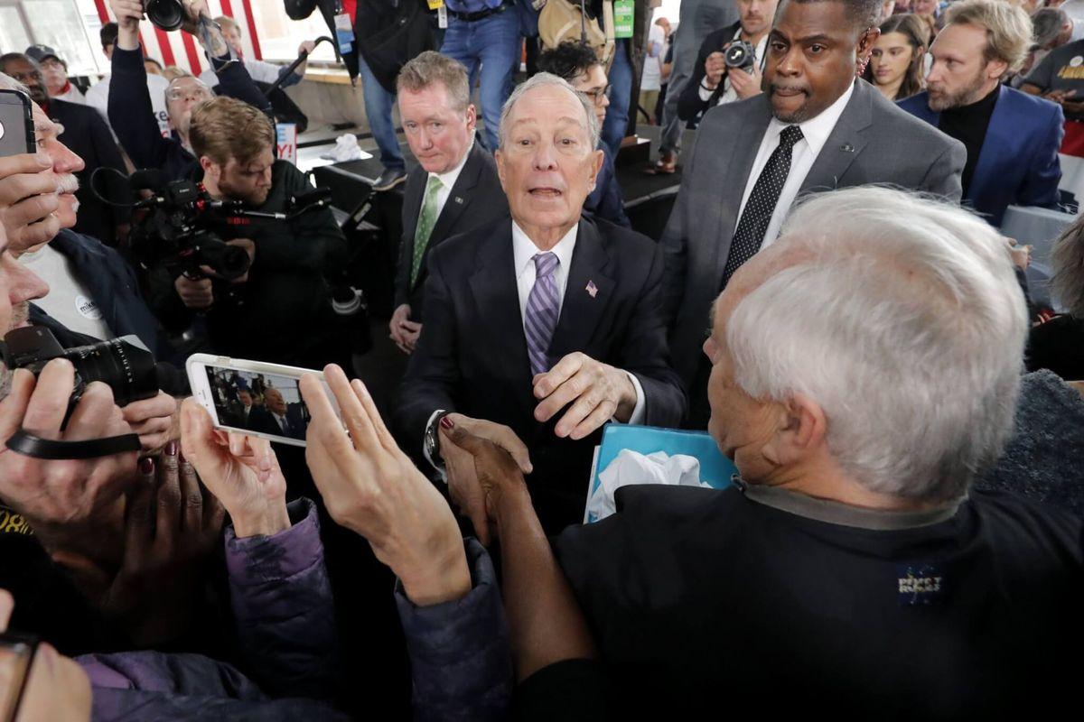 Billionaire Bloomberg Campaign Aims to Unify Splintered Democrats