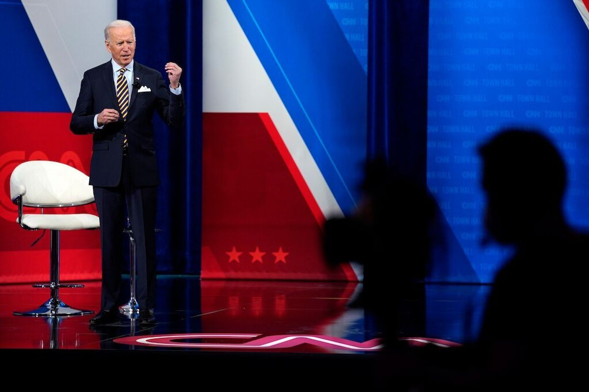 Biden 'Open' to Funding Study About Slavery Reparations
