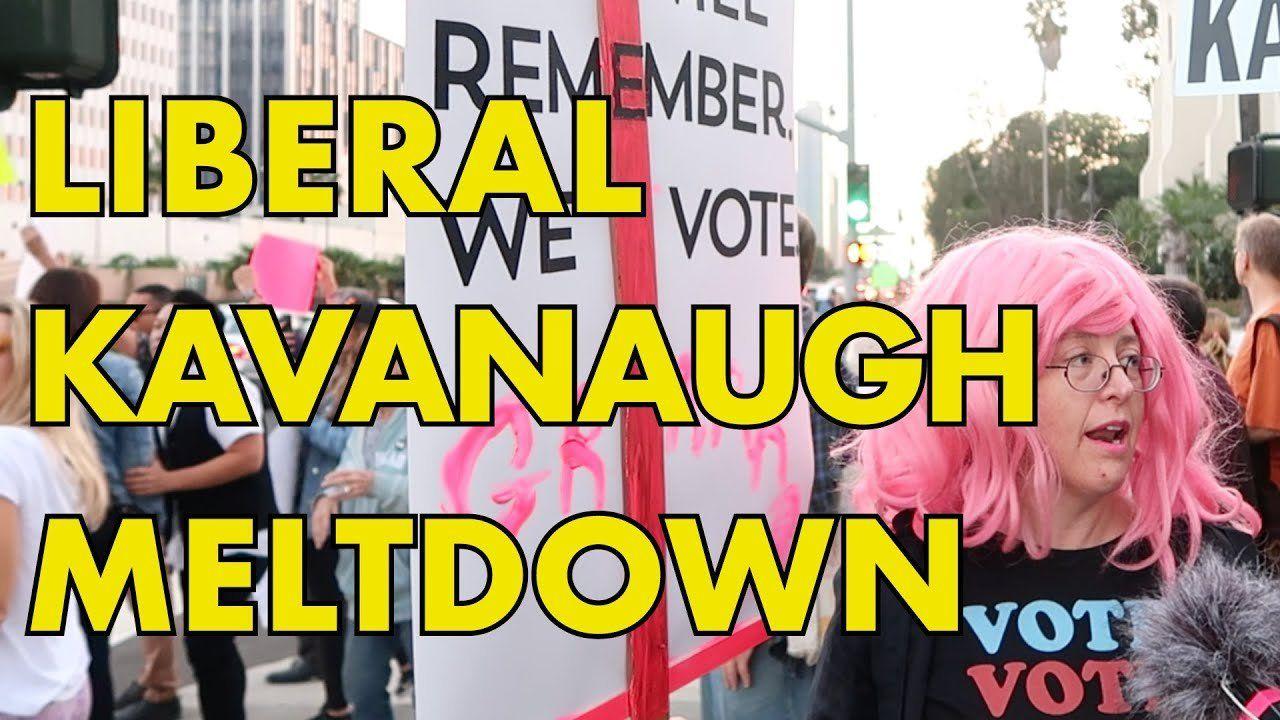 LA Liberal Meltdown After Kavanaugh Confirmation